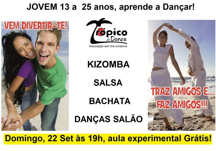 Jovens, experiementem aprender a dançar a par gratuitamente!