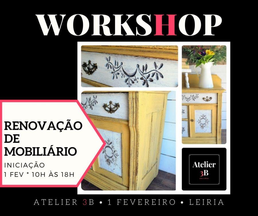 Workshop de Renovação de Mobiliário (Iniciação)