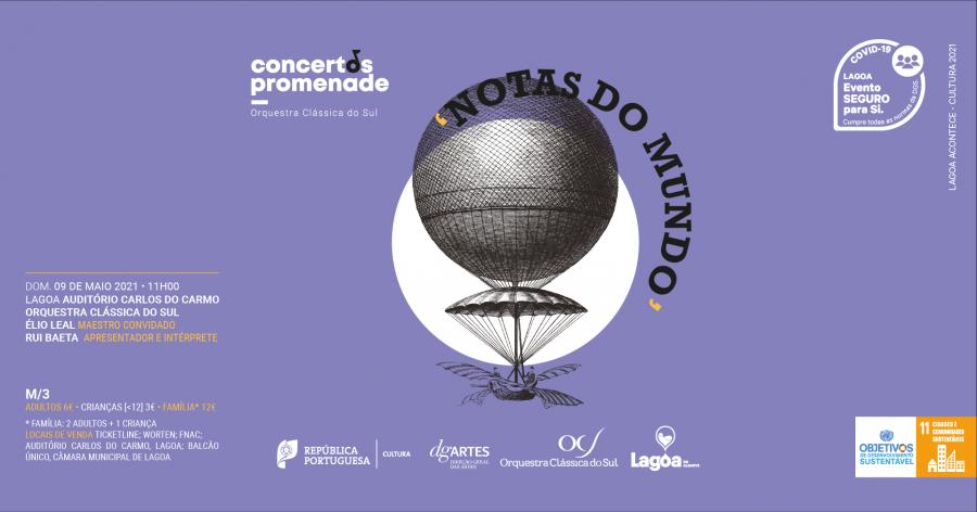 Concertos Promenade | Notas do Mundo