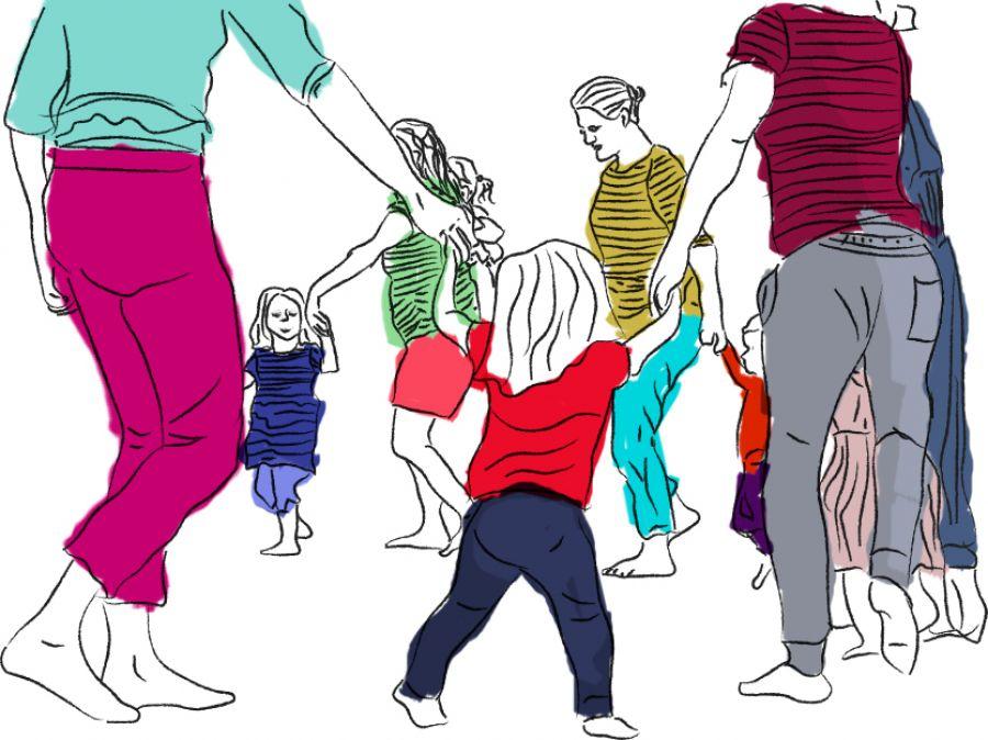 Histórias em Movimento - Dança criativa pais e filhos