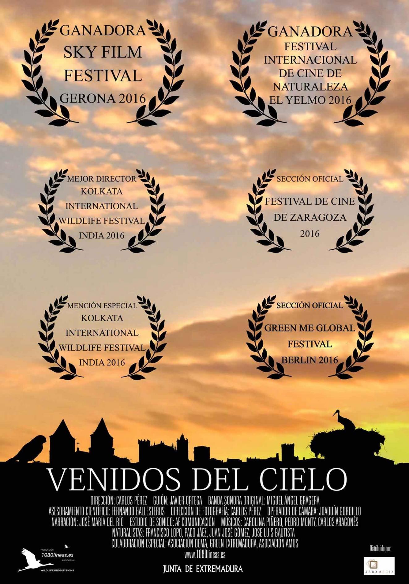 VENIDOS DEL CIELO // Proyección Matinal