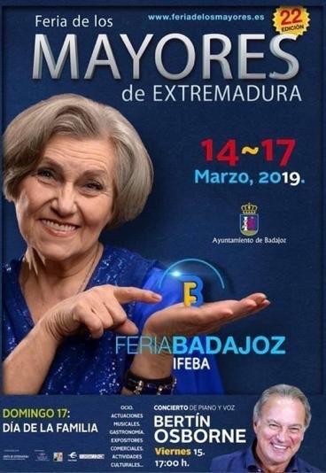 Feria de los mayores de Extremadura || 22 edición