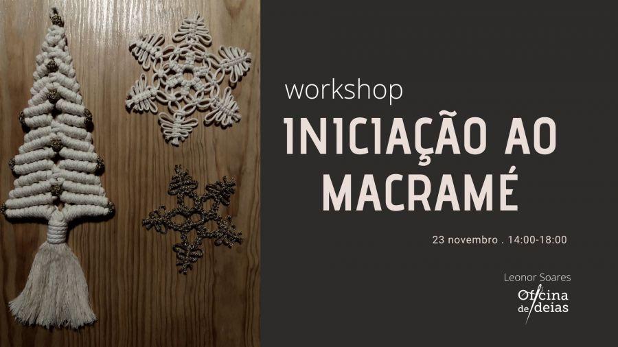 Workshop Iniciação ao Macramé