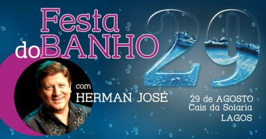 Festa do Banho 29 com Herman José