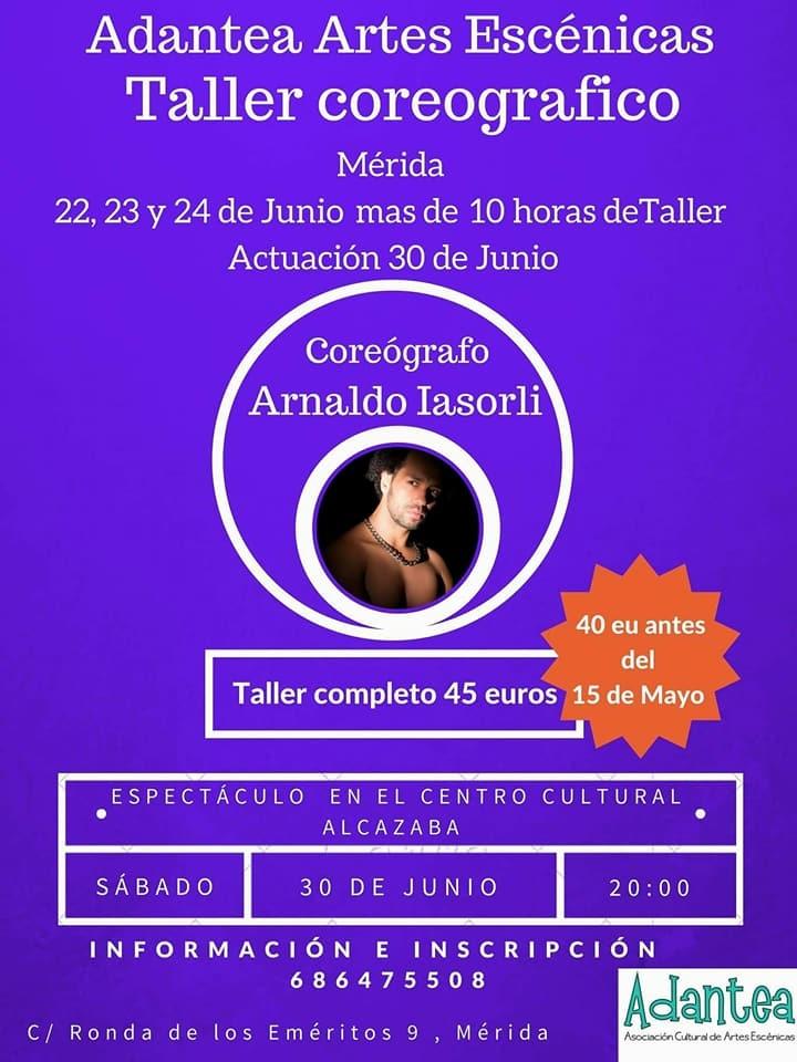 Taller coreográfico con Arnaldo Iasorli
