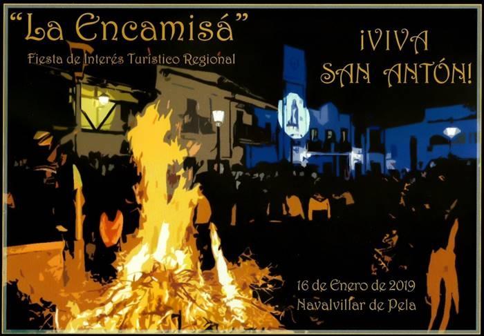 La Encamisá (Carrera de San Antón) | Navalvillar de Pela