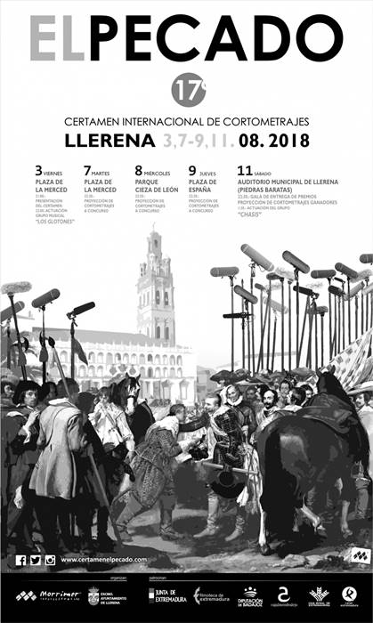 """XVII Certamen Internacional de Cortometrajes """"El Pecado 2018"""""""