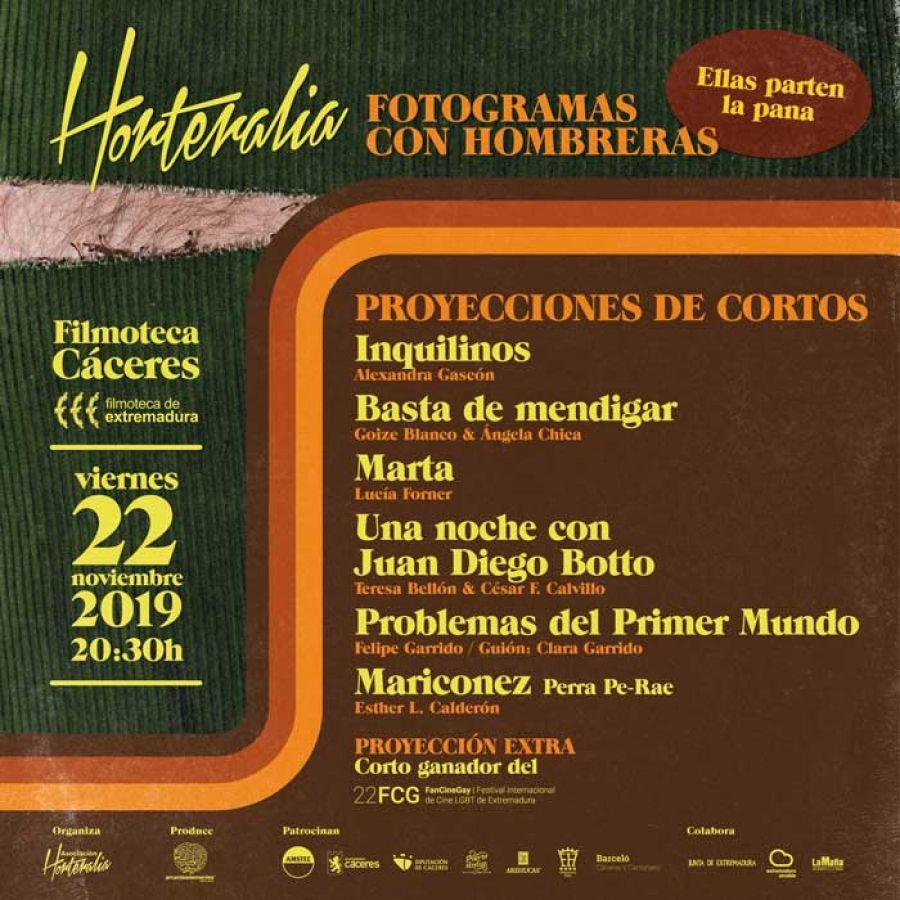 HORTERALIA | Fotogramas con hombreras