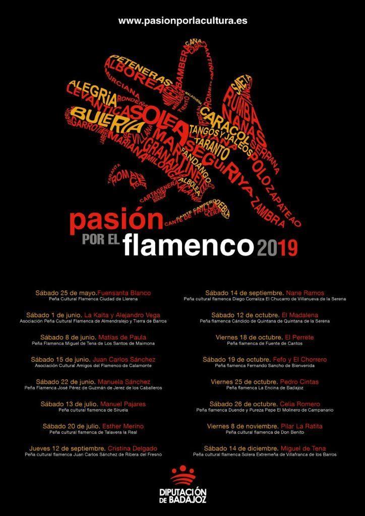 PASIÓN POR EL FLAMENCO 2019 | Diputación de Badajoz