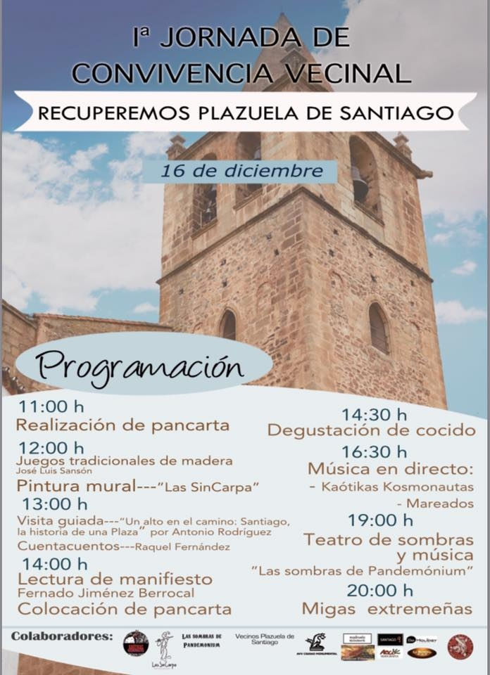 RECUPEREMOS PLAZA SANTIAGO // 1ª Jornada de Convivencia Vecinal