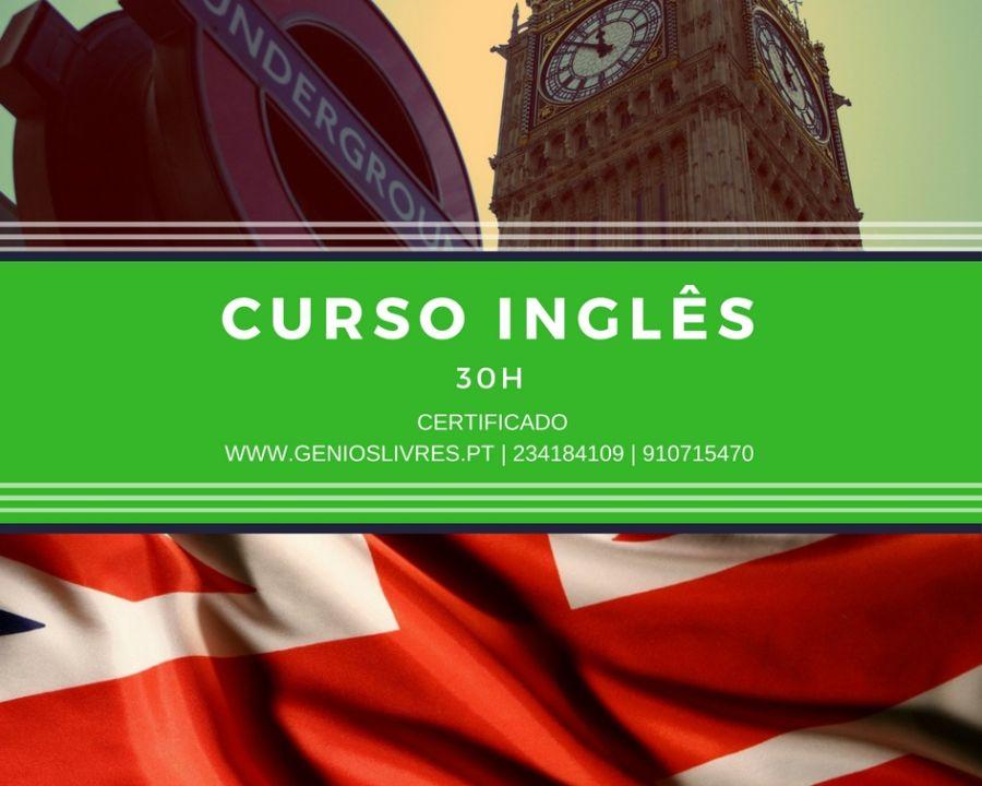 Curso de Nível de Inglês – Certificado B1 (Intermédio) Setembro 18 @ 7:30 pm