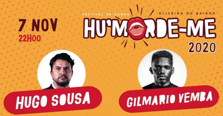 Hu'morde-me apresenta Hugo Sousa e Gilmário Vemba