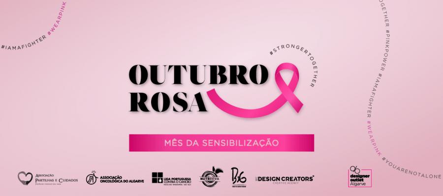 Rosa é a cor do Designer Outlet Algarve em Outubro, em sensibilização ao cancro da mama