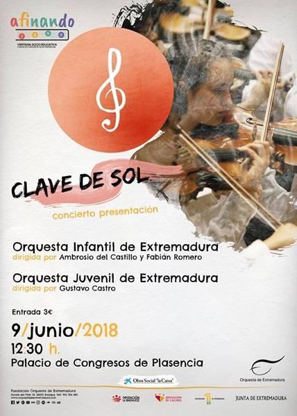 Concierto presentación Orquesta Juvenil e Infantil de Extremadura || Plasencia