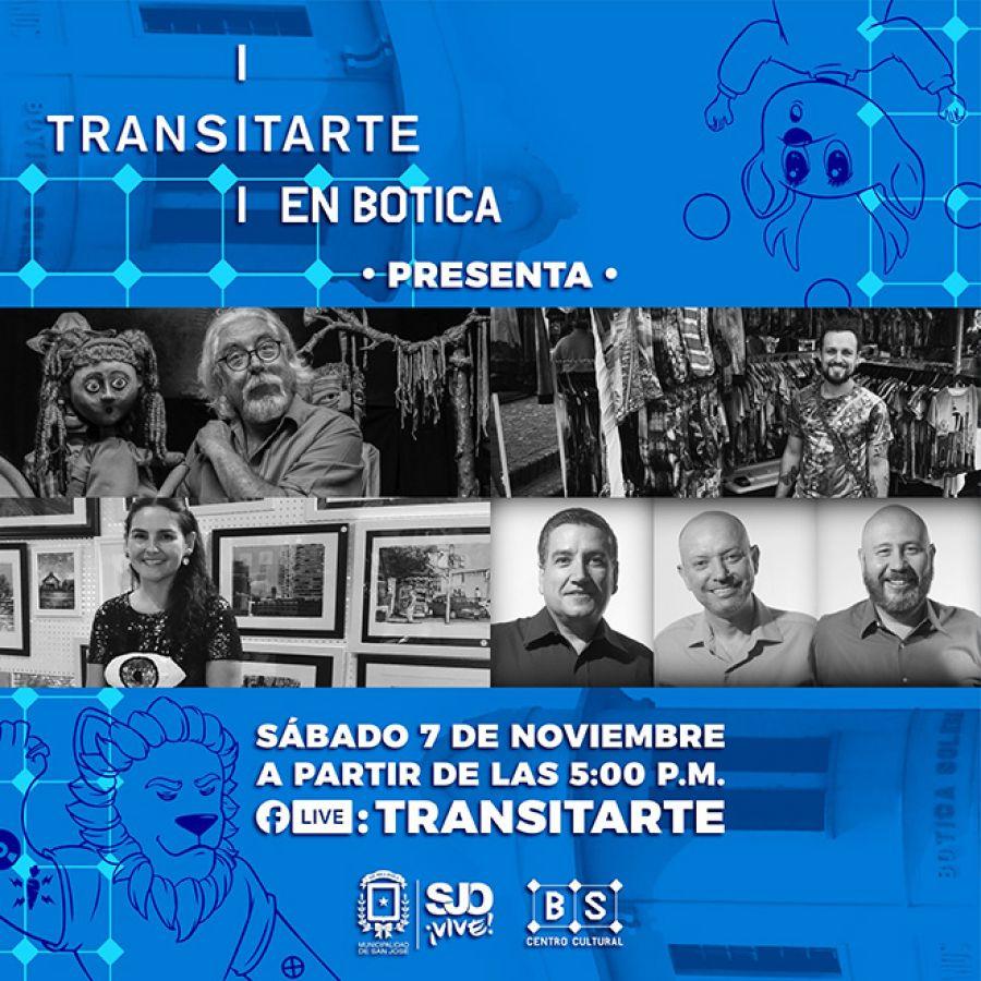 Transitarte en Botica, 07 Nov