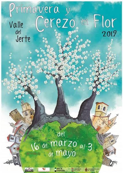 Primavera y Cerezo en Flor 2019 Valle del Jerte | CASAS DEL CASTAÑAR