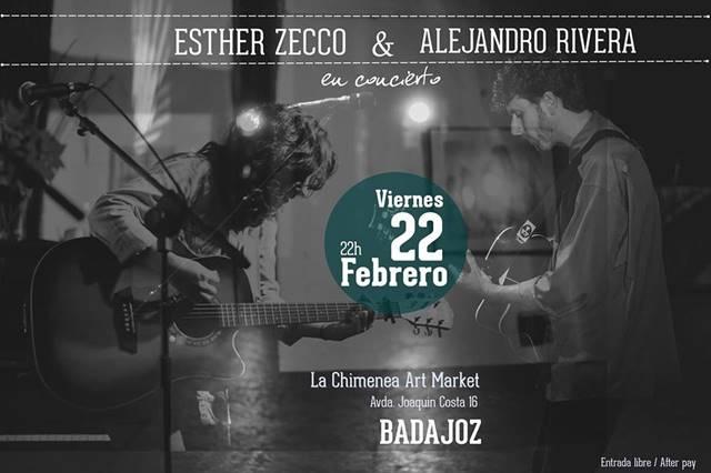 Esther Zecco y Alejandro Rivera en Badajoz