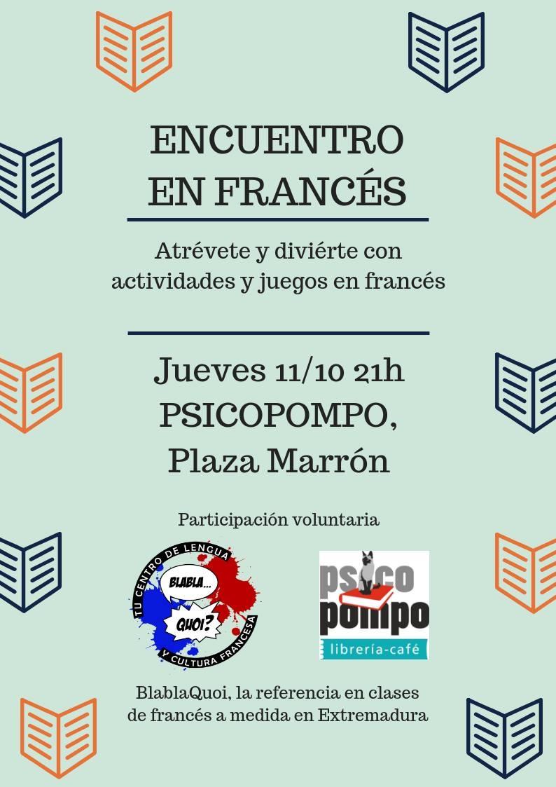 Encuentro en francés con BlablaQuoi Cáceres
