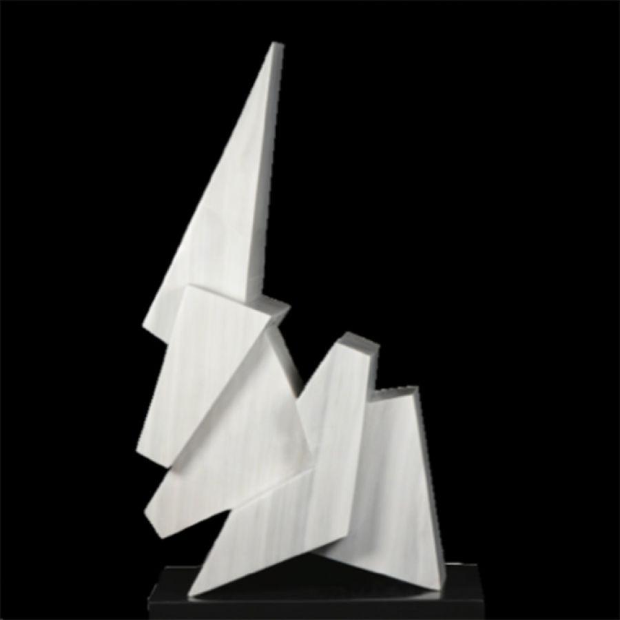 Cuerpos geométricos. Ingrid Rudelman. Escultura.