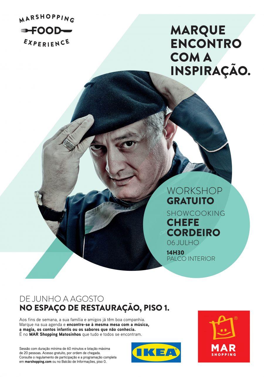Julho com showcooking 'à Chef' Cordeiro, VIA em concerto e mais experiências para envolver os cinco sentidos