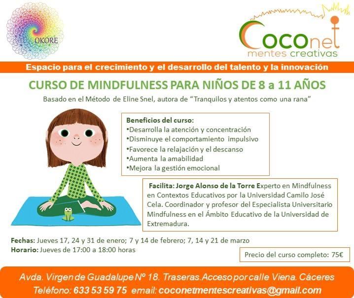 Cursos de mindfulness para niños | Coconet