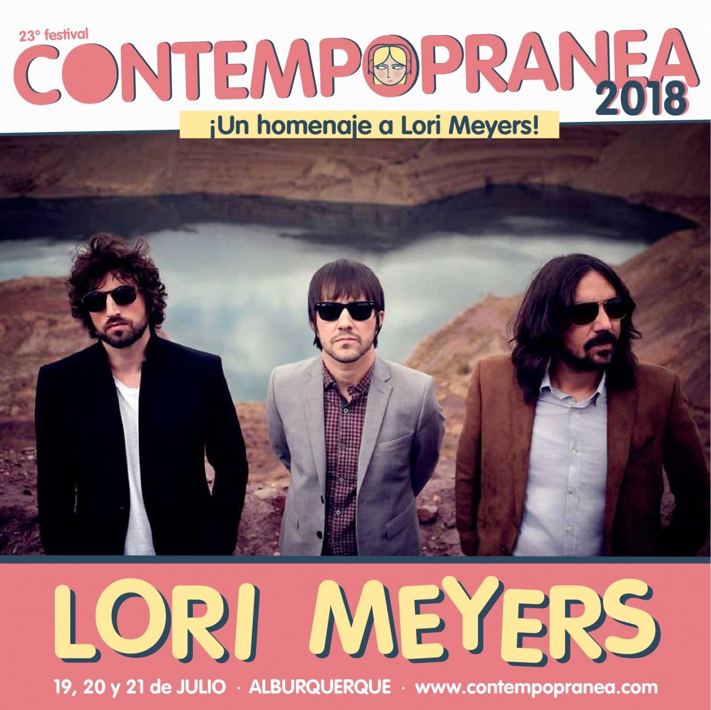 Viernes // LORI MEYERS // Escenario PASEO DE LAS LADERAS