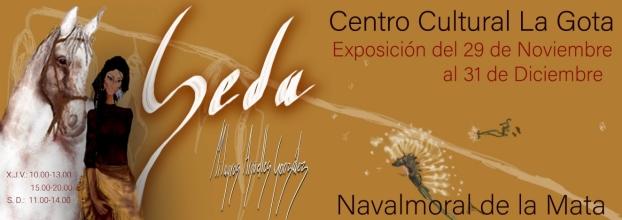 SEDA. Exposición de pañuelos de seda con ilustraciones de Milagros Argüelles González