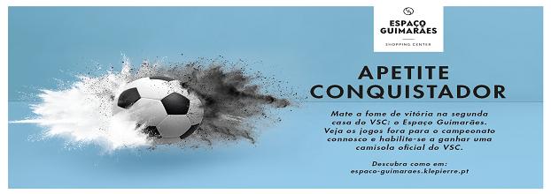 14 de abril às 15h vem apoiar o Vitória de Guimarães no Espaço Guimarães