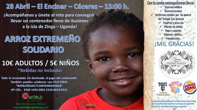 ARROZ EXTREMEÑO SOLIDARIO | Isla de Zinga (Uganda)