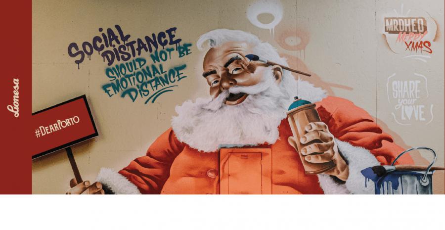 """Campanha quer transformar a distância física em proximidade emocional """"Social distance should not be Emotional distance"""""""