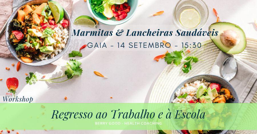 Workshop de Marmitas e Lancheiras Saudáveis
