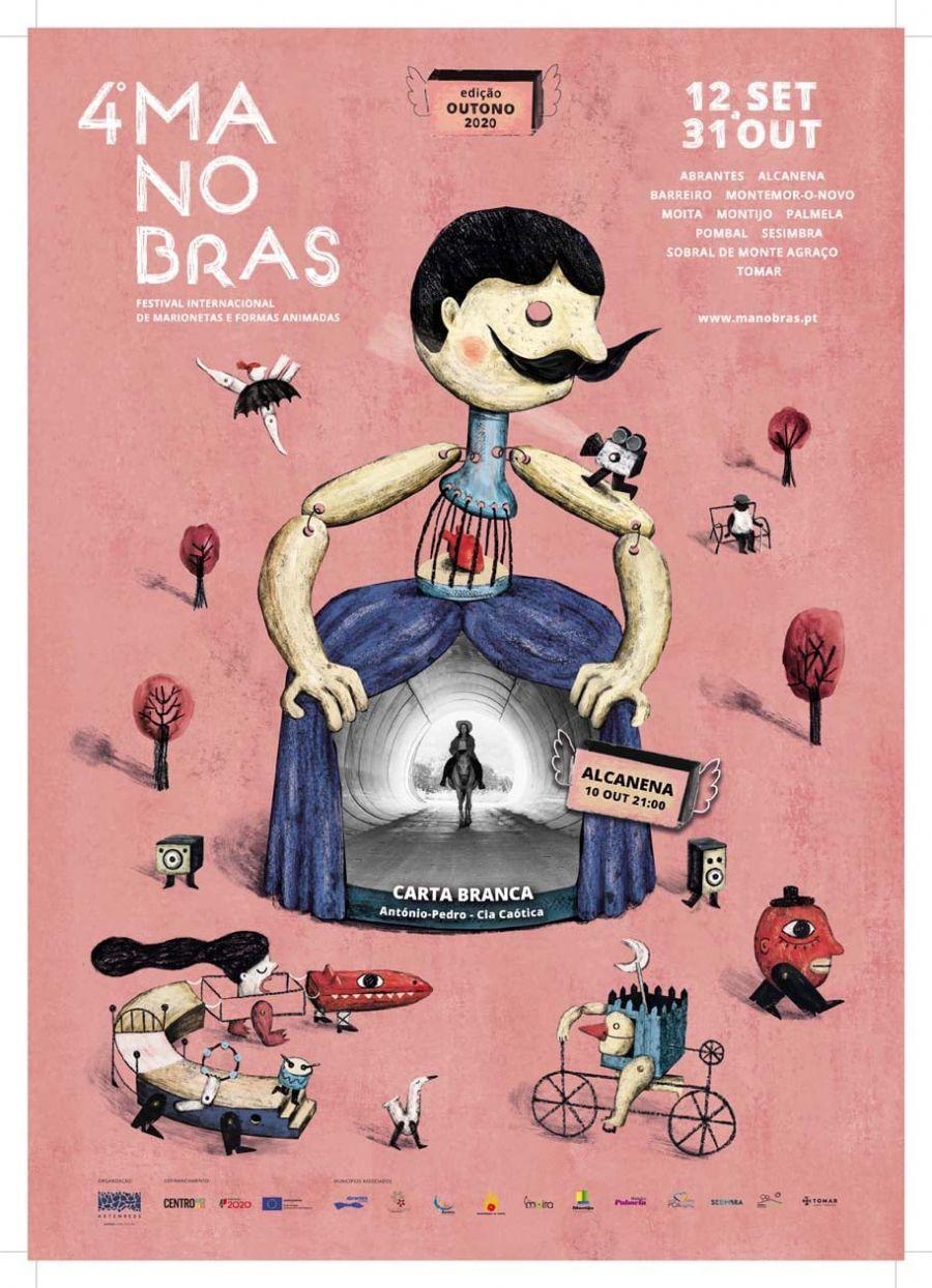 Curta-Metragem Carta Branca – Companhia Caótica | 4º Festival Internacional de Marionetas e Formas Animadas
