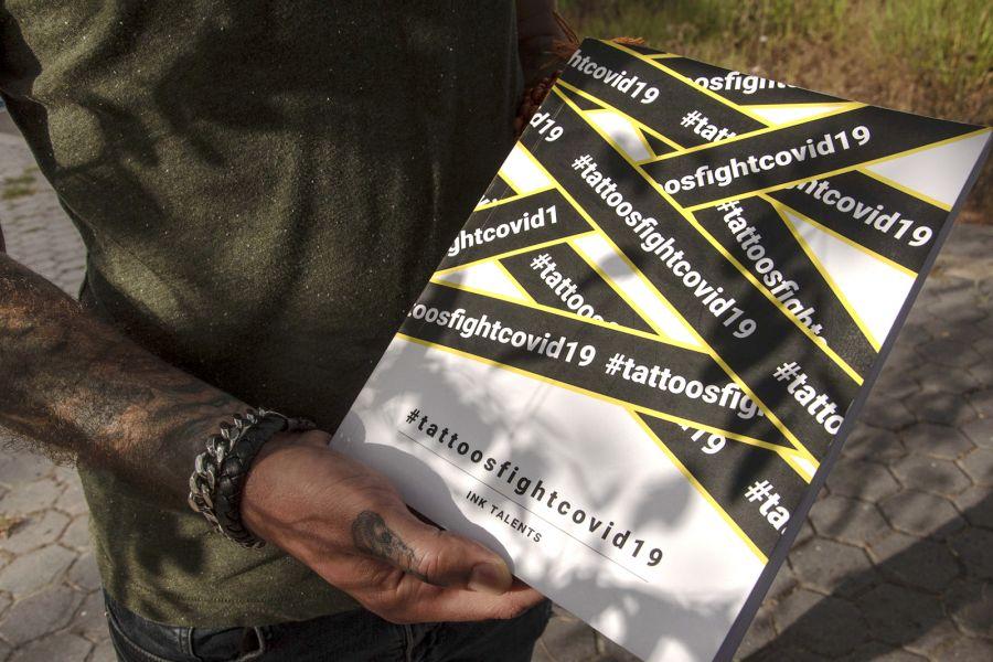 Apresentação do livro solidário #Tatoosfightcovid19