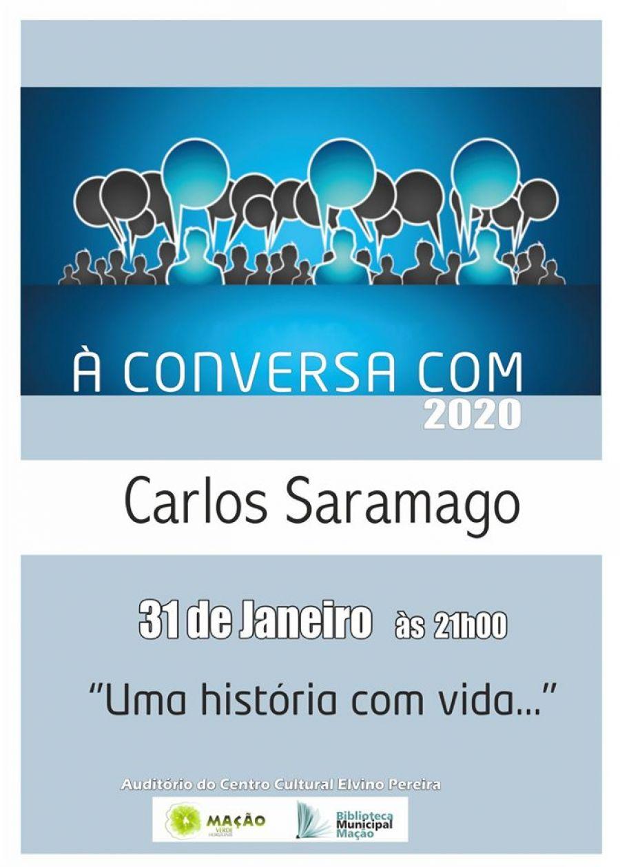 À CONVERSA COM… Carlos Saramago