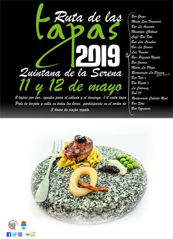 RUTA DE LAS TAPAS 2019 // Quintana de la Serena
