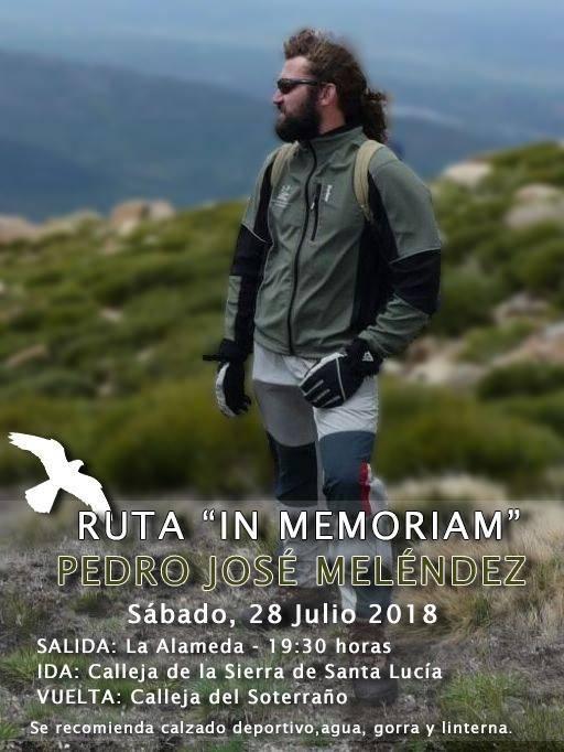 Ruta en memoria de Pedro José Meléndez