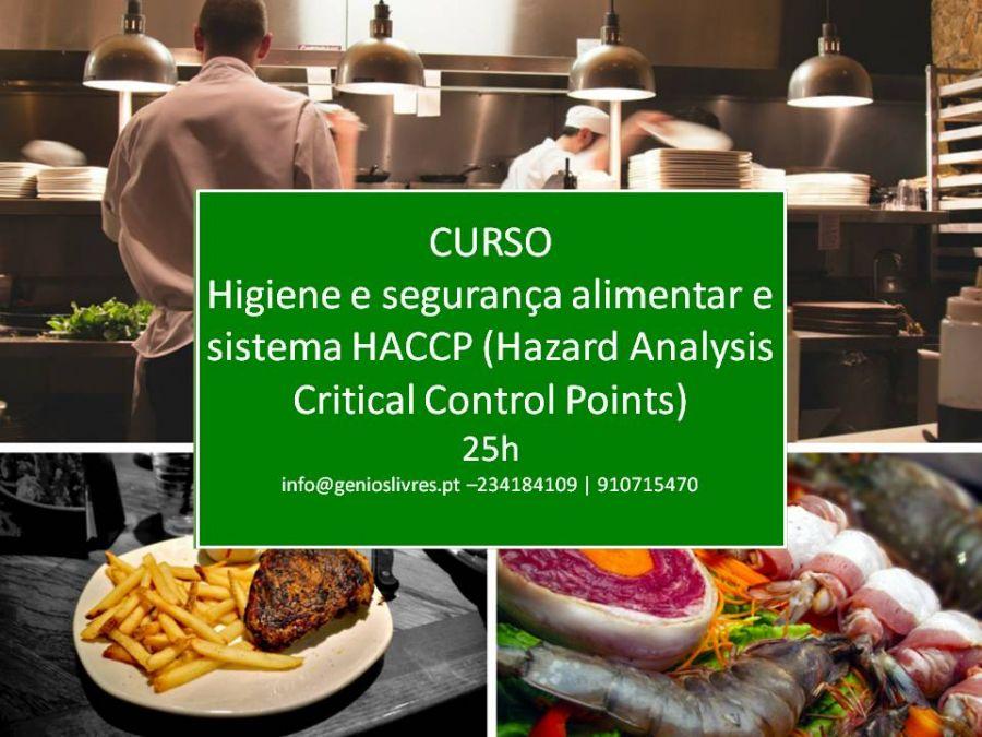 Curso de Higiene E Segurança Alimentar E Sistema Haccp (Hazard Analysis Critical Control Points).