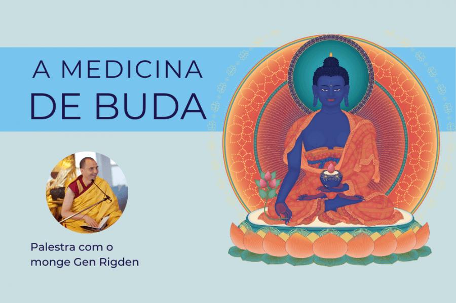 Palestra 'A Medicina de Buda'