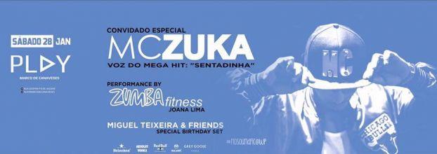MC ZUKA @PlayClub 28' Janeiro