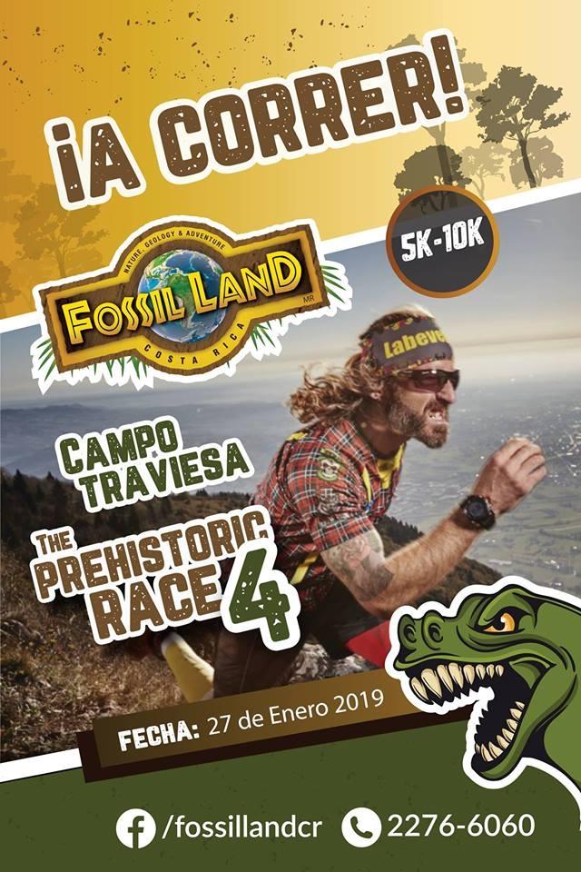 Prehistoric race 4. Recorridos de montaña