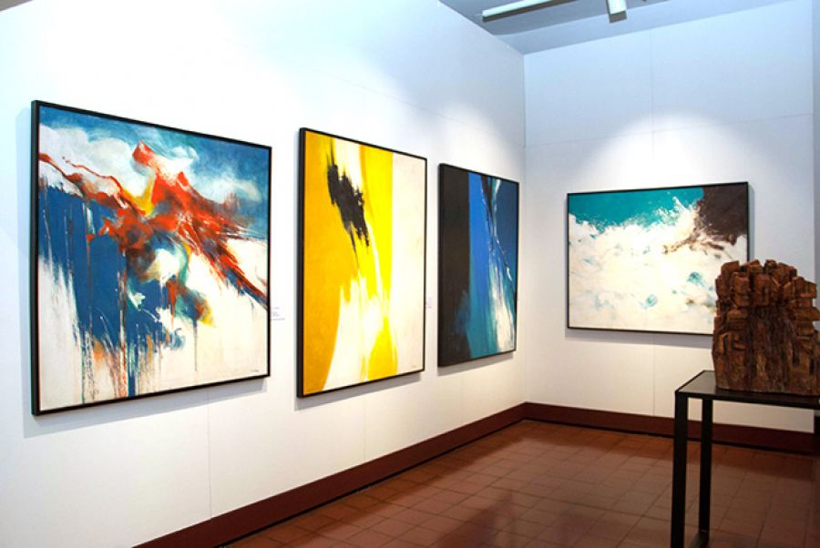 Temporal. Composición. Rafael Ángel 'Felo' García. Artes Visuales