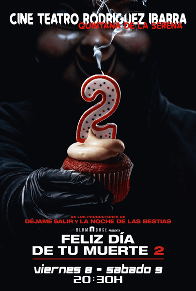 Cine: FELIZ DÍA DE TU MUERTE 2
