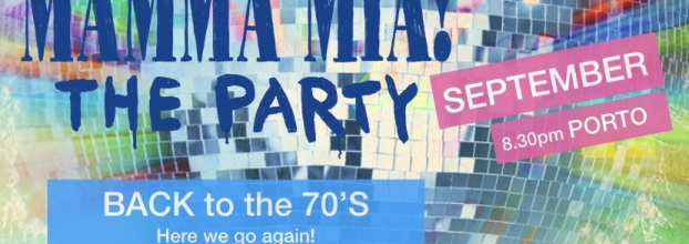 'Mamma Mia' The Party! Back to the 70's...