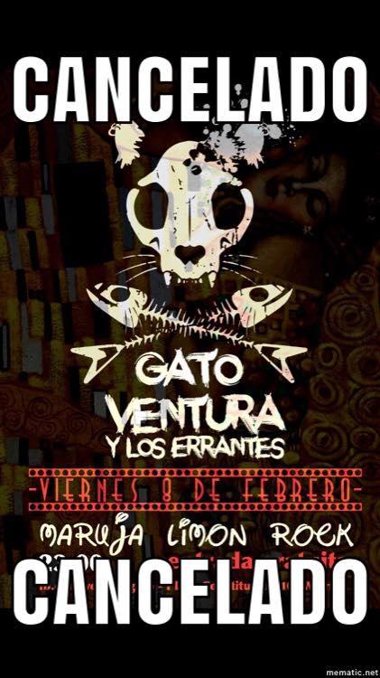 Concierto: Gato Ventura & Los Errantes || Maruja Limón