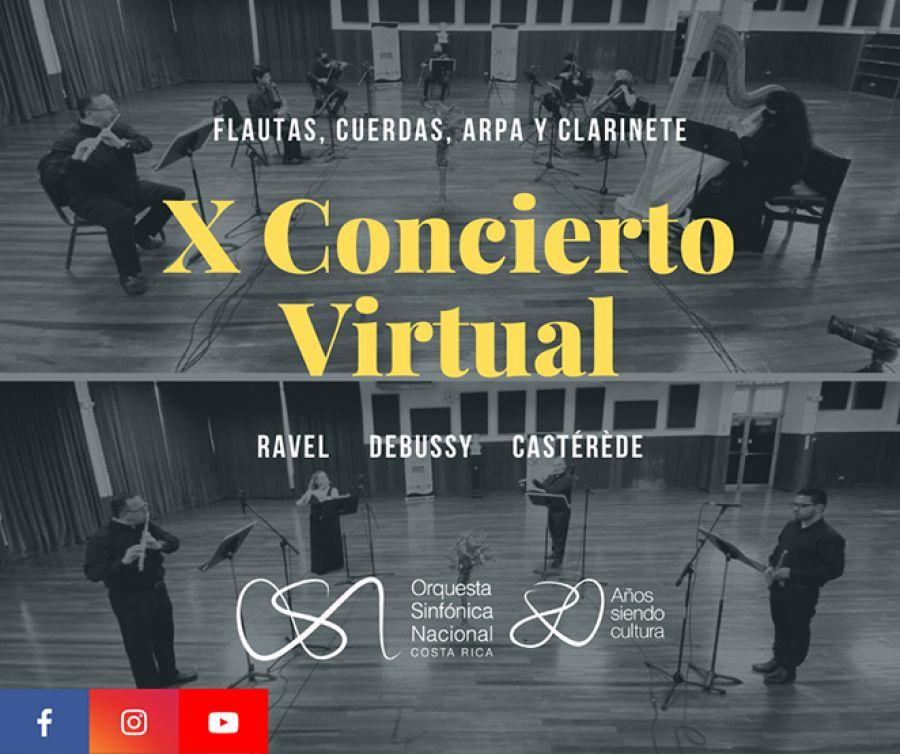 X Concierto de Temporada Virtual 2020. Orquesta Sinfónica Nacional