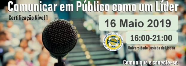 Certificação 'Comunicar em Público como um Líder' - 4° Edição