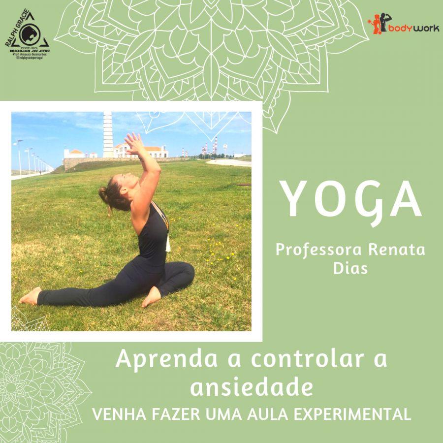 Yoga - Aprenda a controlar a ansiedade