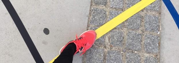 A line made by walking. Reactivar el espacio urbano
