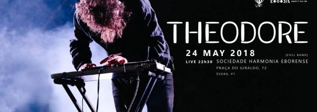 Theodore - Évora - Portugal Tour 2018
