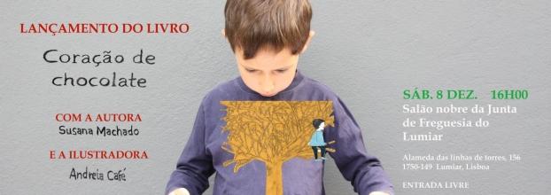 Sessão de Lançamento e Oficina Infantil do livro Coração de Chocolate